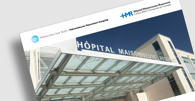 Hopital Maisonneuve-Rosemont Teleophthalmology Program Case Study